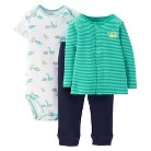 Just One You™Made by Carter's® Newborn Boys' Dinosaur 3 Piece Set