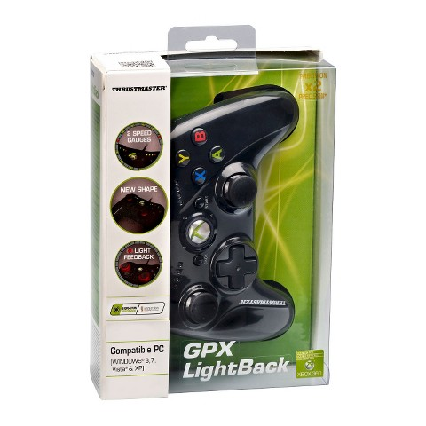 Thrustmaster GPX LightBack - Black (Xbox 360/PC)