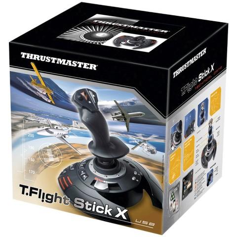 Thrustmaster T.Flight Stick X Flight Controller Usb - Black (PlayStation 3/PC)