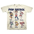 Paw Patrol Toddler Boys' Short Sleeve Tee - Almond Cream