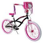 Girl's Hello Kitty Bike - Black/Pink (20