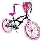 "Girl's Hello Kitty Bike - Black/Pink (20"")"
