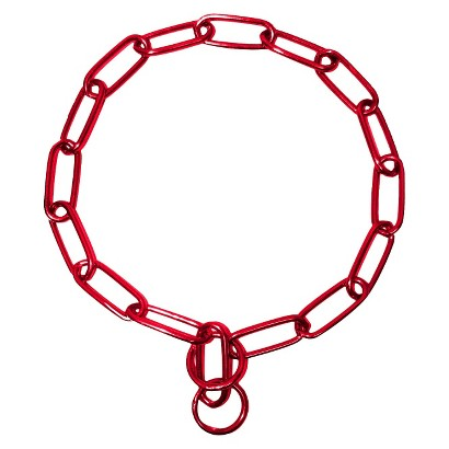 Platinum Pets 19 inch Coated Chain Training Collar
