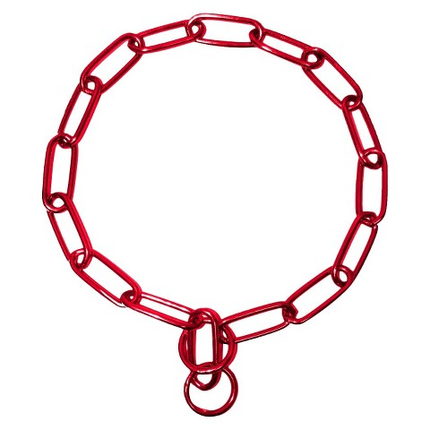 Platinum Pets 21 inch Coated Chain Training Collar