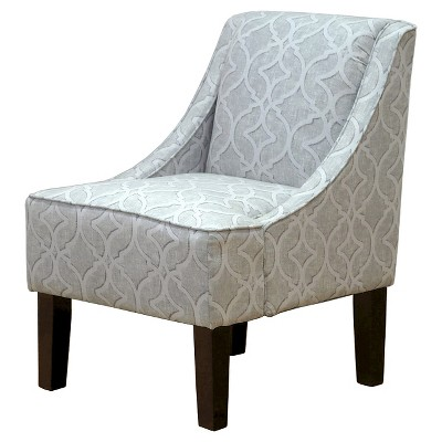 Skyline Upholstered Chair Grey