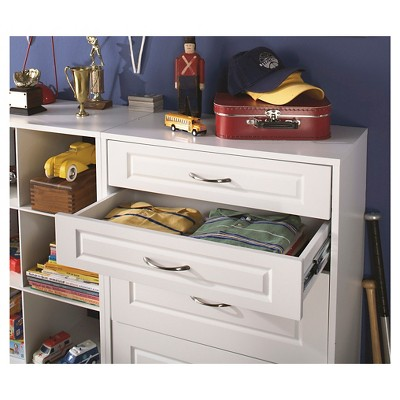 "ClosetMaid Suite Symphony Raised Panel 25"" x 5"" Drawer - White"