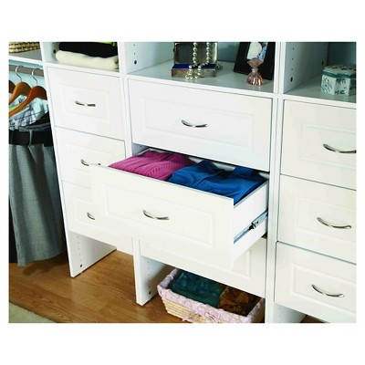 "ClosetMaid Suite Symphony Raised Panel 25"" x 10"" Drawer - White"