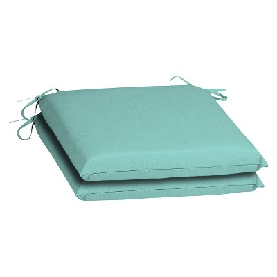 2-Piece Outdoor Seat Cushion - Turquoise  - Room Essentials™
