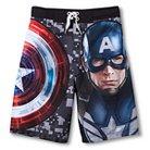 Captain America Boys' Swim Trunks