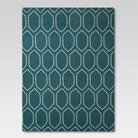 Threshold™ Dot Tile Area Rug - Blue (7'x10')