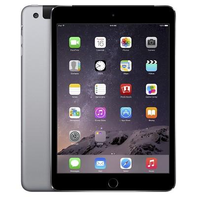 Apple® iPad Mini 3 Wi-Fi + Cellular 128GB - Space Gray