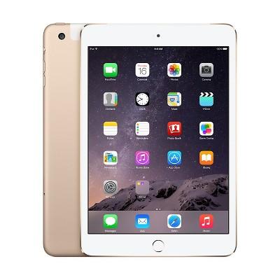 Apple® iPad Mini 3 Wi-Fi + Cellular 64GB - Gold