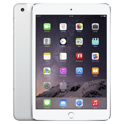 iPad Mini Cellular 16GB Silver