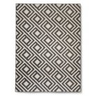 "Threshold™ Square Geometric Runner - Gray (1'10""x7')"
