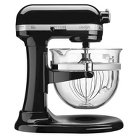 KitchenAid® Professional Pro 600 Design 6 Qt Stand Mixer with Glass Bowl- KF26M22