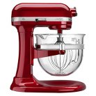 KitchenAid® Professional Pro 600 Design 6 Qt Stand Mixer with Glass Bowl- KF26M22