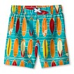 Boys' Surfboard Swim Trunks - Multi