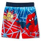 Toddler Boys' Spider-Man Swim Trunks
