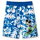 Disney&#174 Toddler Boys' Mickey Mouse Hawiian Swim Trunks