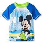 Disney&#174 Toddler Boys' Mickey Mouse Rash Guard