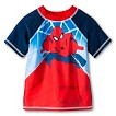 Toddler Boys' Spider-Man Rash Guard