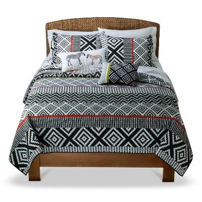 Mudhut™ Isela Quilt Set - Multicolored (Full/Queen)