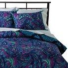 Isadora Comforter Set Queen Purple&Blue - Boho Boutique™