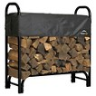 4 Ft. Firewood Rack w/Cover