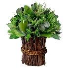 8 X 8 X 10 Inch Green Dried Wreath