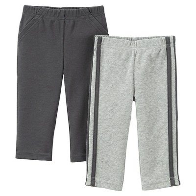 Just One You™Made by Carter's® Newborn Boys' 2 Pack Pant - Grey NB