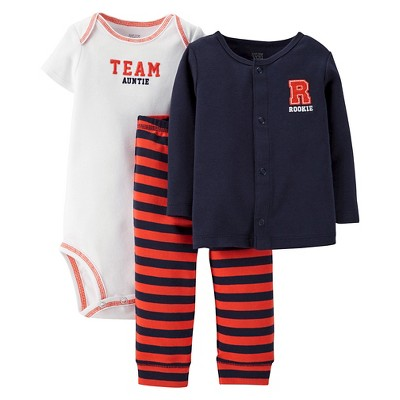 Just One You™Made by Carter's® Newborn Boys' Tiger 3 Piece Set 6 M