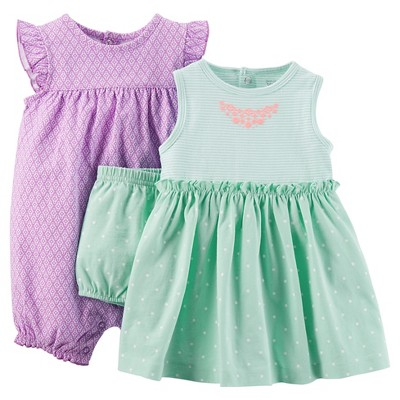 Just One You™Made by Carter's® Newborn Girls' Romper and Dress Set NB