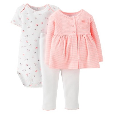 Just One You™Made by Carter's® Newborn Girls' 3 Piece Set - Pink 9 M
