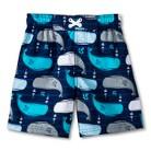 Boys' Whale Swim Trunks