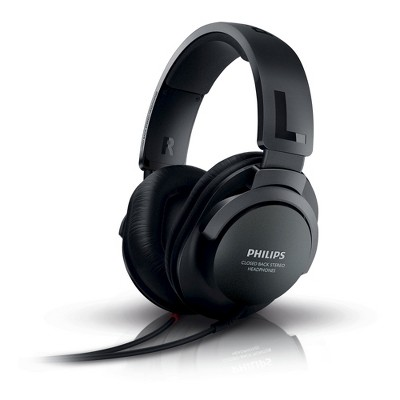 Philips Extra Bass Hifi Stereo Over-the-Ear Headphone - Black (SHP2600)