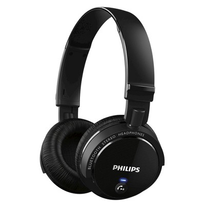 Philips Bluetooth Headband On-the-Ear Headphone - Black (SHB5500BK)