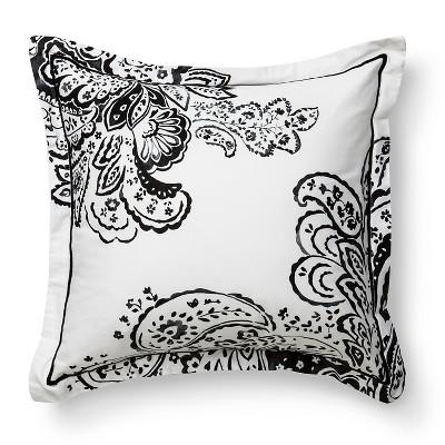 Cloud Company Delilah Decorative Paisley Pillow - Black/White