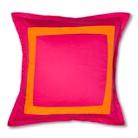 Cloud Company Merritt Euro Sham - Pink/Orange