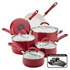 Farberware New Traditions 14 Piece Aluminum Nonstick Cookware Set