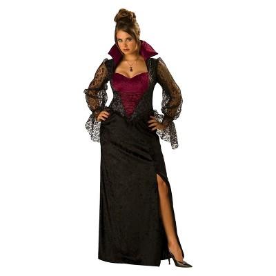 Women's Plus Midnight Vampiress Costume X-Large/XX-Large