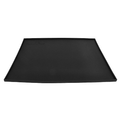 Pet Feeding Mat Platinum Pets Black Silicone