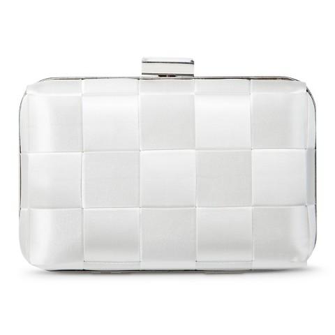 TEVOLIO™ Satin Checkered Clutch