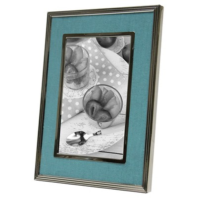 4x6 Nickel Finish Frame-Cape Cod Mint - Threshold™