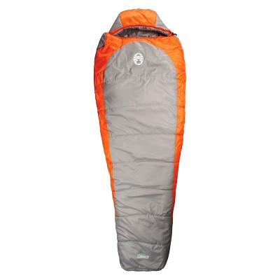 Coleman® Silverton™ 25 Degree Mummy Sleeping Bag - Orange