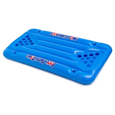 BigMouth Inc Giant Blue Pool Party Pong Game - 5 feet