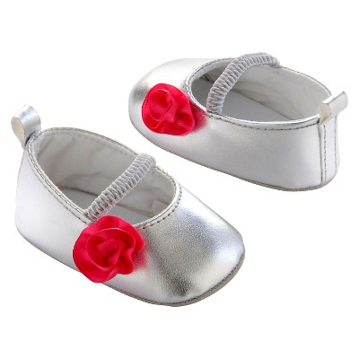 Just One You Mary Jane Shoes Jan 15 Joy Bw Silver NB