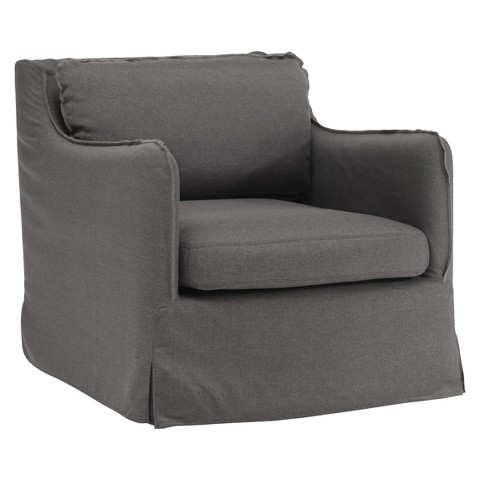 Zuo Pacific Heights Upholstered Chair - Charcoal Gray