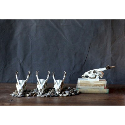 Decorative Sculpture Creative Co-Op White Resin