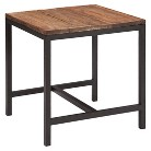 Zuo Fitch End Table - Distressed Natural