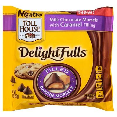 Nestle Toll House Delightfulls Caramel Filled Morsels 9oz